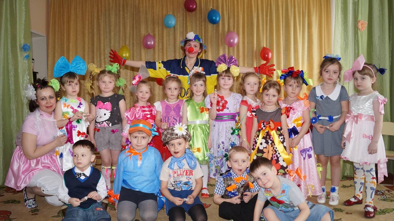 Праздник бантика в детском саду